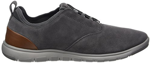 Homme Gris Geox Basses Xunday U anthracite 2fit A Sneakers xggqYR4w
