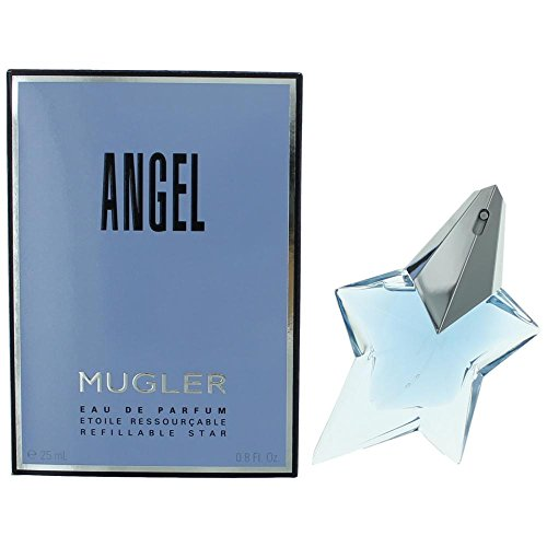 Tester Angel (Thierry Mugler Angel Eau De Parfum Refillable Spray for Women, 0.8 Ounce)