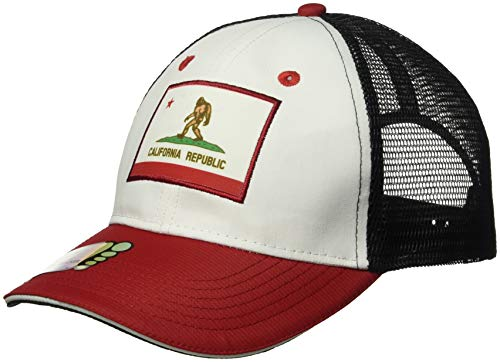 Headsweats Trucker Bigfoot California Hat, White, One Size
