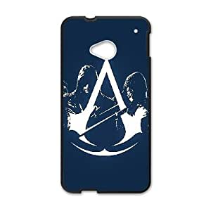 HTC One M7 Black phone case Assassins Creed LOOG Fashion players preferred OKE9197640