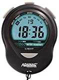 MARATHON ST083013 Digital Stopwatch Timer with Back Light. Extra Large Display with Jumbo Numbers. Batteries Included. Color- Black.