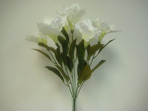 CREAM Amaryllis Bush Satin Artificial Decoration Flowers Artificial Arrangement 23