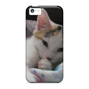 Iphone 5c Well-designed Hard Cases Covers Mini The Calico Cat 2 Protector