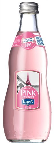 Lorina Sparkling Pink Lemonade , 11.1-Ounce (Pack of 12) by Lorina