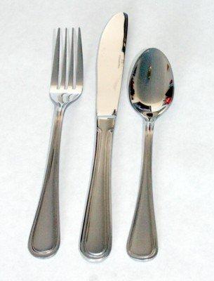 36 pc. Stansbury Euro Style Flatware Set