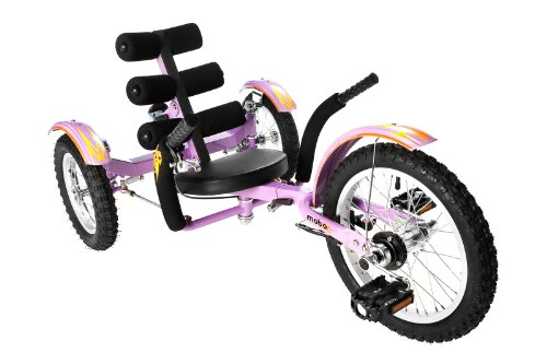 Mobo Mobito (Purple) Ultimate Three Wheeled Cruiser