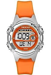 Timex #TW5K96800 Women's Marathon Alarm Chronograph Orange Band Digital Watch
