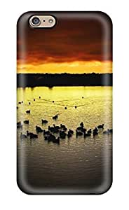 High-quality Durability Case For Iphone 6(birds Earth Water Nature Water Drop)