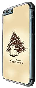 "iphone 6 4.7"" Christmas Holiday Case Hand Drawn christmas tree (7) Design Fashion Trend Cool Case Back Cover Plastic/Metal"