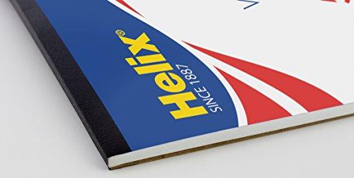 Helix Vellum Paper Pad, 100% Rag,  11 x 17 inch, 50 Sheets (37106)