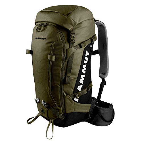 Mammut - Trion Spine 50 Mountaineering Backpack for Alpine and Trekking, Olive-Black