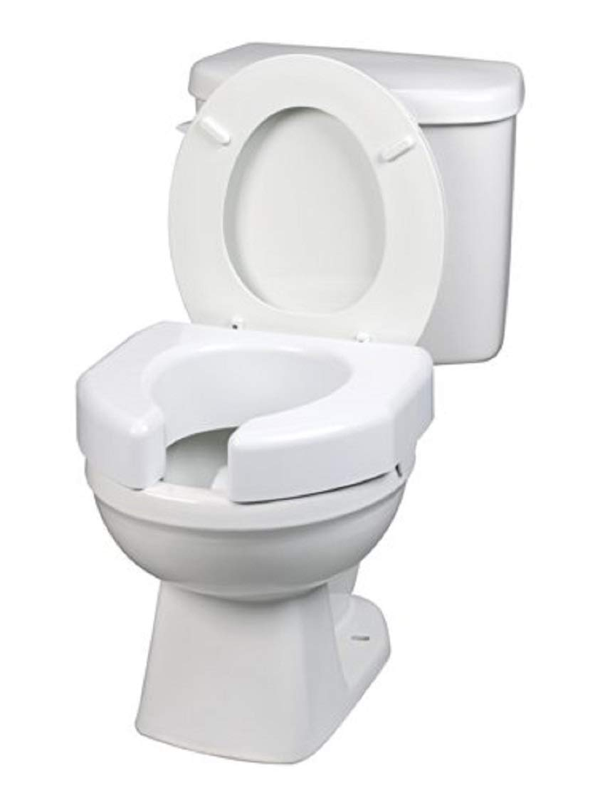 Maddak Basic Open Front Elevated Toilet Seat (725790000) by SP Ableware