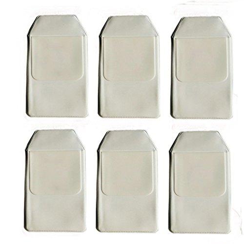 zorpia® Protector 6 piezas Classical Blanco Protector zorpia® de bolsillo para la escuela Hospital oficina – Bolígrafo de bolsillo Protector de pantalla para fugas ef4fc2