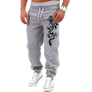 SamMoSon_shorts Soldes - Pantalón de chándal para Hombre, diseño ...