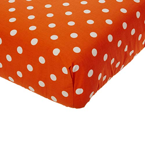 Glenna Jean Apollo Crib Fitted Sheet, Orange