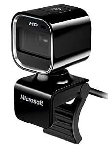 Microsoft LifeCam HD-6000 USB 2.0 Negro cámara web - Webcam (30 pps, USB 2.0, Negro, Intel Dual-Core 1.6 GHz, 1024 MB, 1500 MB)