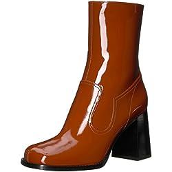 Marc Jacobs Women's Ross Ankle Boot, Rust, 37 M EU (7 US)