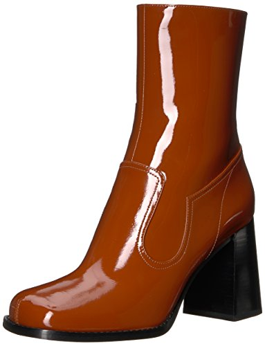 Marc Jacobs Women's Ross Ankle Boot, Rust, 37.5 M EU (7.5 - Boots Jacobs Marc