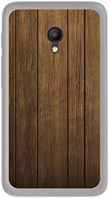 Tumundosmartphone Funda Gel TPU para Orange Rise 51 / ALCATEL PIXI 4 (5) 4G / VODAFONE Smart Turbo 7 diseño Madera Dibujos