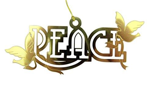 Peace Dove Ornament - 9