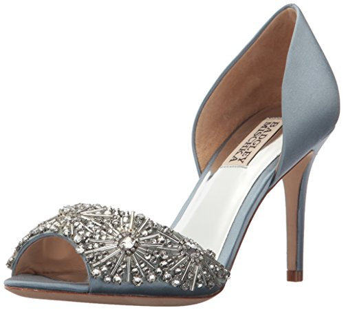 Badgley Mischka Women's Maria Pump, Cloudy Blue, 8.5 M US by Badgley Mischka