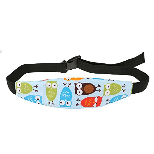 Baby Kids Car Seat Neck Relief Head Support Band with Adjust