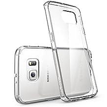 Galaxy S6 Edge Case, [Scratch Resistant] i-Blason **Clear** [Halo Series] Samsung Galaxy S6 Edge Hybrid Bumper Case Cover (Clear (Anti Scratch))