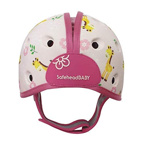 SafeheadBABY Soft Helmet for Babies Learning to Walk – Giraffe Baby