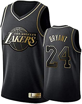 Camiseta de Baloncesto para Hombre, Los Angeles Lakers #24 Kobe ...