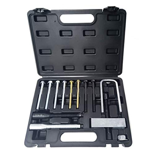 Lock Plate Compressor Set - Mechanic Tool Kit Set Steering Wheel Disassembly Tool,SuperUS Steering Wheel Remover And Lock Plate Compressor Set -Puller Tool kit US Stock