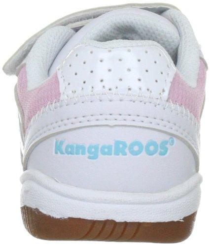 KangaROOS 10704 - Zapatillas de deporte infantiles Blanco ((wht/lt.pink/past.blue 60))