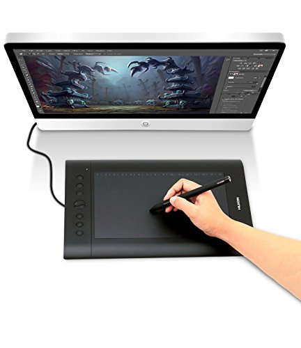 huion h610pro painting drawing pen graphics tablet in the