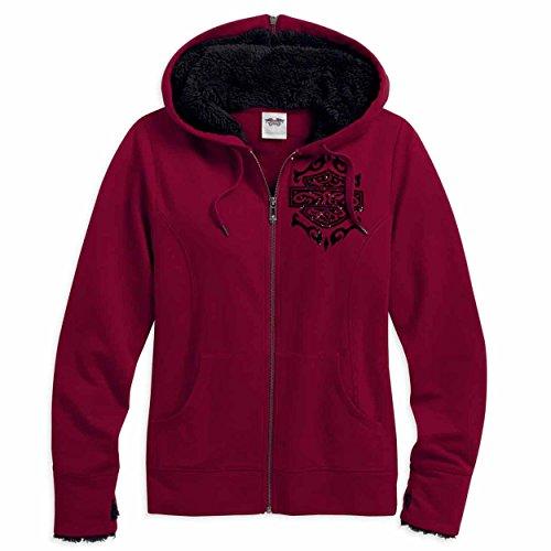 harley-davidson-womens-glitter-bar-shield-legend-flocked-hoodie-96168-16vw-medium