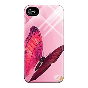 4/4s Scratch-proof Protection Case Cover For Iphone/ Hot A Bouquet Bright Phone Case