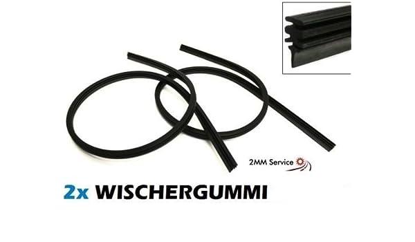 1 Set 530/450 mm Limpiaparabrisas Escobilla de goma goma goma de repuesto goma de repuesto para Bosch Aerotwin/Swf Visoflex - de Aston Martin - AUDI ...