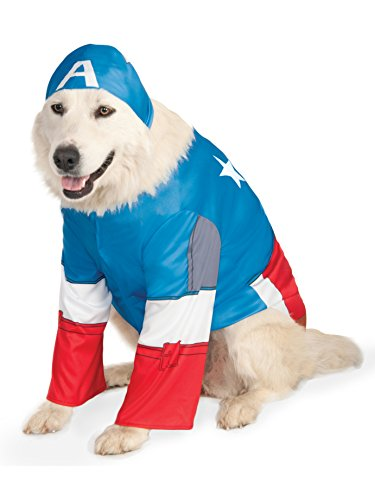 Marvel Universe Captain America Big Dog Boutique Costume, XXX-Large]()