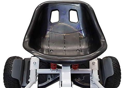 SILI® Kart à Suspension Hors Route pour Scooter à équilibrage Automatique à 2 Roues, Conception améliorée avec Suspension sous Le siège pour Un Confort Maximal