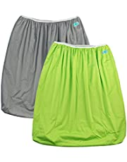 ALVABABY 2 Pack Reusable Diaper Pail Liner for Cloth Diaper,Laundry,Kitchen Garbage Cans PL-B1029