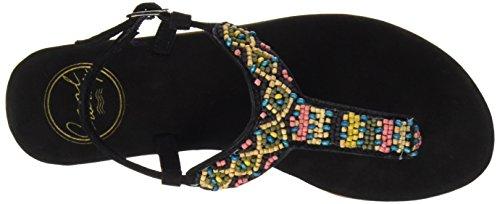 Coolway MIAMI - Sandalias para mujer Negro (BLK)