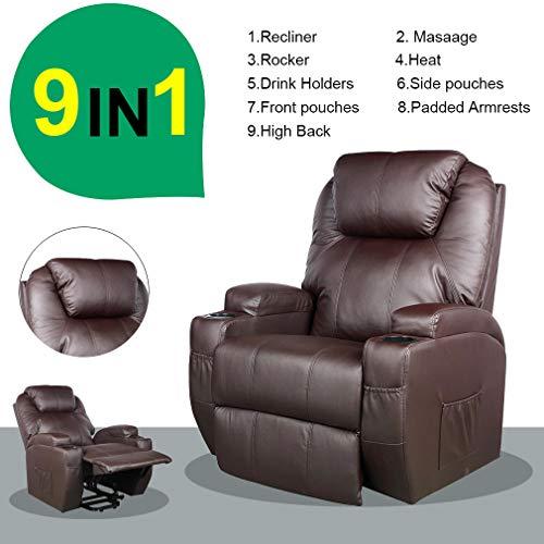 auto lift recliner chair - 6