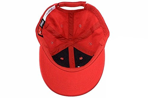 7921663fd0a37 NIKE Toddler Just Do It Sports Hat Adjustable Sun Cap (Gym Red w ...