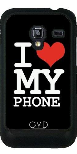 Funda para Samsung Galaxy Ace Plus S7500 - Amo A Mi Teléfono by wamdesign