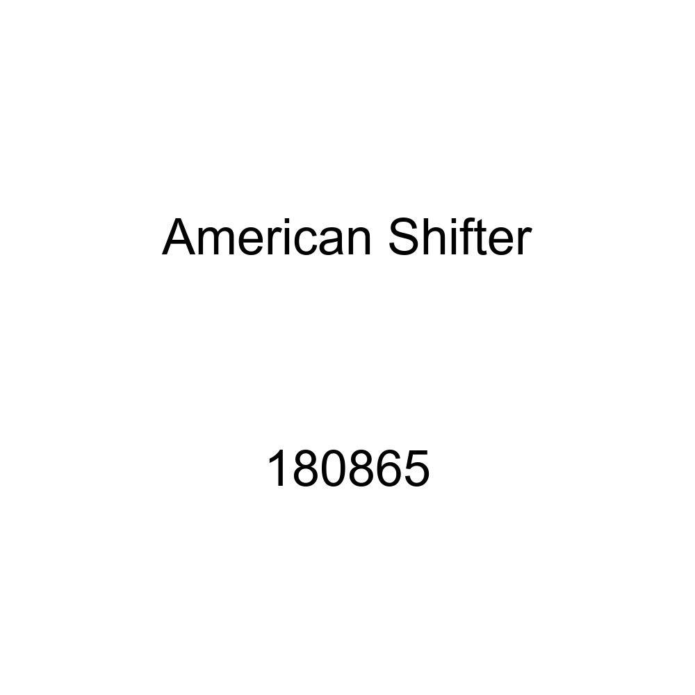 American Shifter 180865 Orange Retro Metal Flake Shift Knob with M16 x 1.5 Insert Orange Target w//Splatter