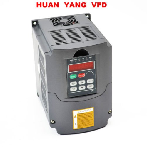 HY Series Variable Frequency Drive VFD Inverter 1.5KW 220V AC by HY