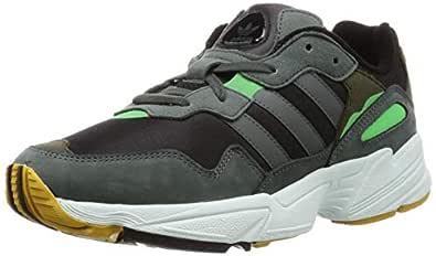 Adidas ORIGINALS Yung Chasm Shoes 7.5 B(M) US Women / 6.5 D(M) US Core Black/Legend Ivy/raw Ochre