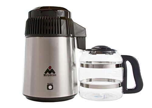 Megahome Countertop Water Distiller Stainless, Glass Collection - home water distillers