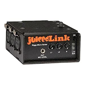 JuicedLink Riggy Micro Low-Noise Preamp