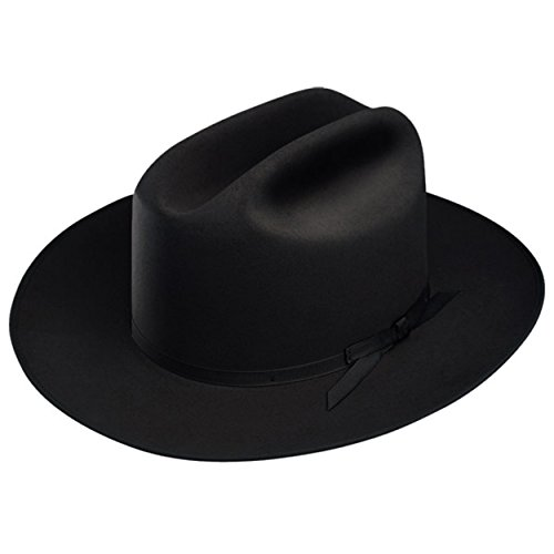 Stetson Open Road Fur Felt Hat (7 1/8, Black)