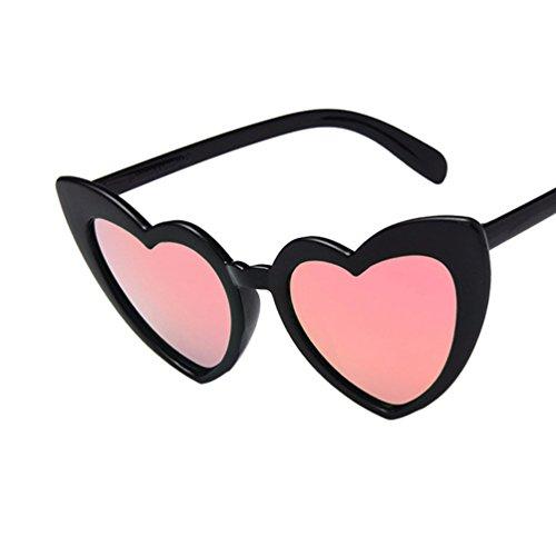Marco Moda Ketamyy Sol Rosa De De Polarizados De Precioso Corazón Nuevo Gafas Con Mujer Negro Forma ZtwqZH