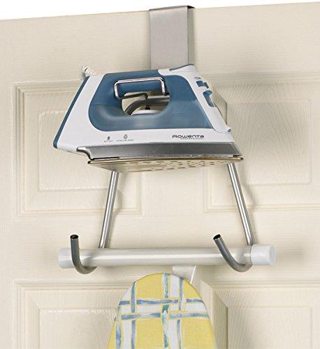 SKB family Door or Wall Mount Iron and Board Caddy, 15.5'' x 4.5'' x 2.5 lbs